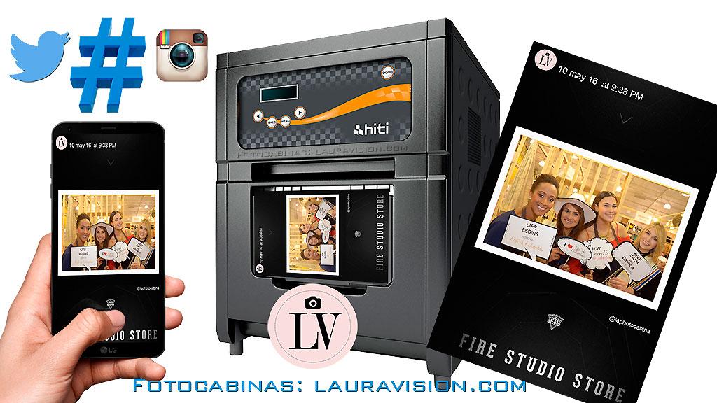 Impresión de fotos desde Instagram o Twitter