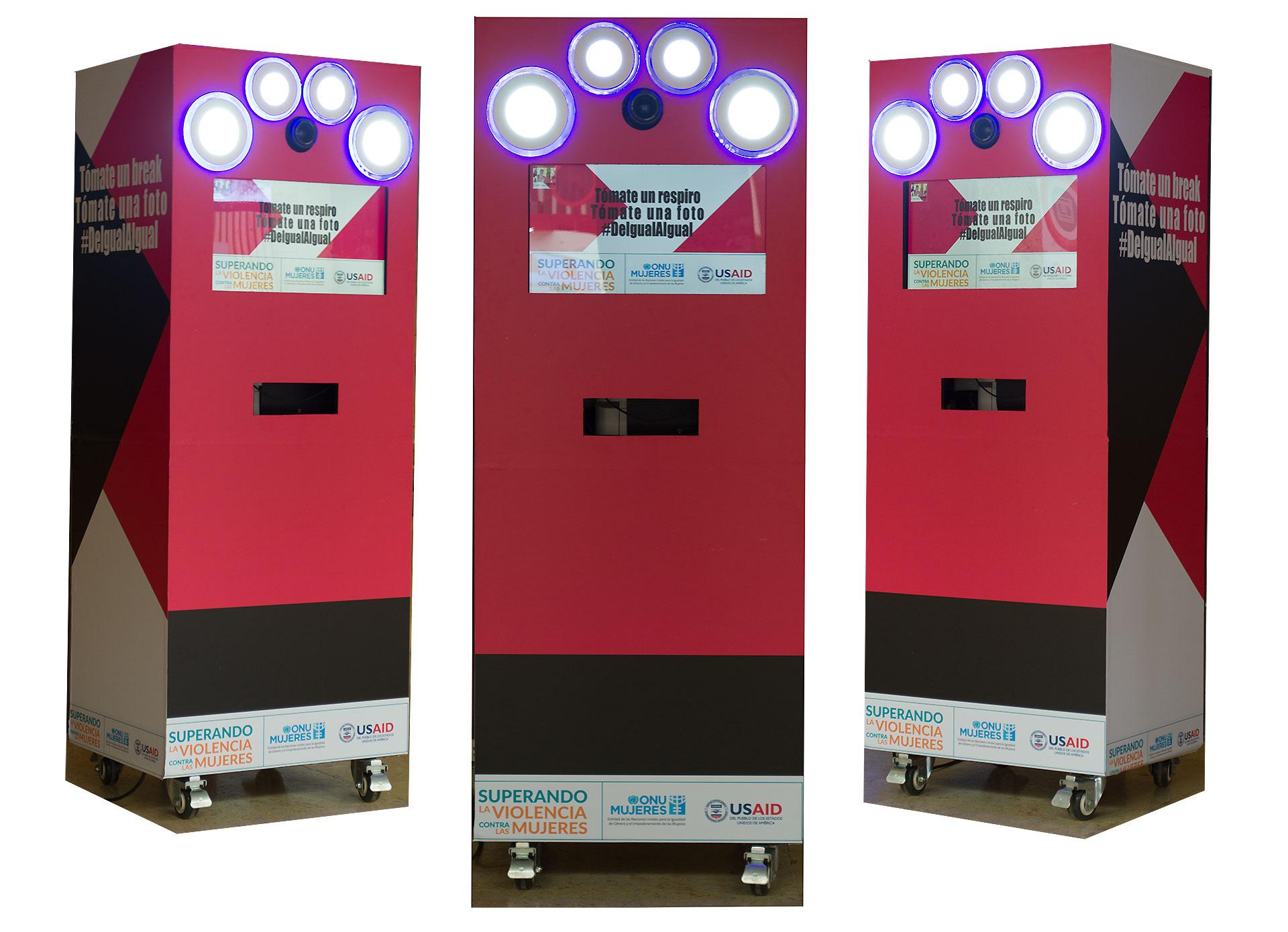 Alquiler de cabinas de fotos en Cartagena para congresos