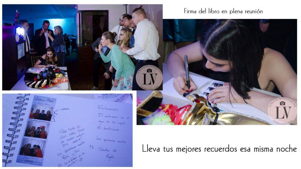 Libro de firmas en las bodas