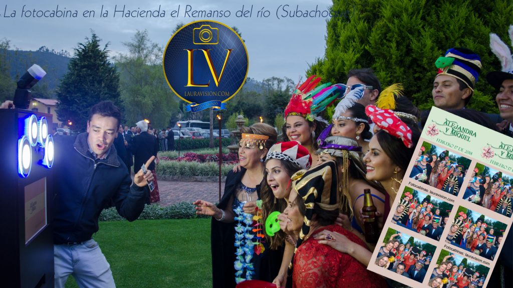 Photo booth para bodas en haciendas