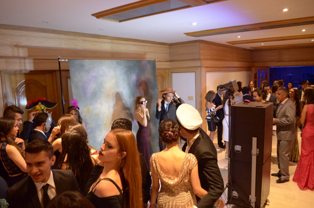 Alquiler de fotocabinas para proms