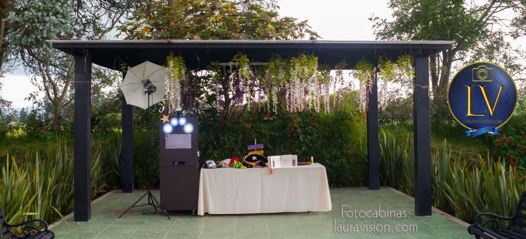 Alquiler de fotocabinas para bodas en haciendas por Bogota Tabio Subachoque Hacienda Slamanca