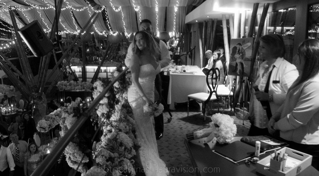 Cabinas de fotos imantadas para bodas