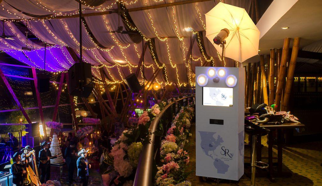Alquiler de fotocabina para bodas