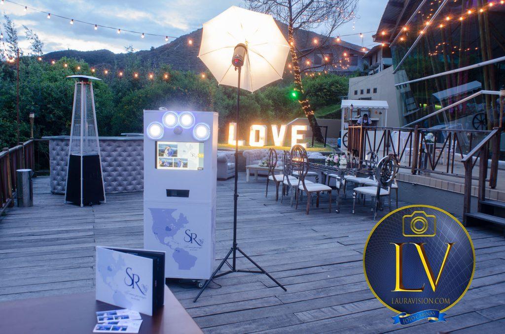 Fotocabinas para bodas en Bahía Centro de Convenciones